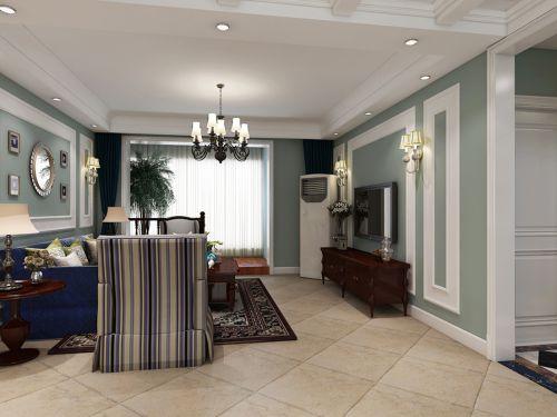 新古典风格三居室客厅装修图片