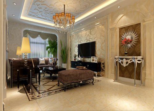 新古典风格四居室客厅装修效果图大全