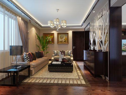 新古典风格二居室客厅装修效果图欣赏