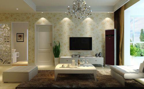 新古典风格二居室客厅装修图片欣赏