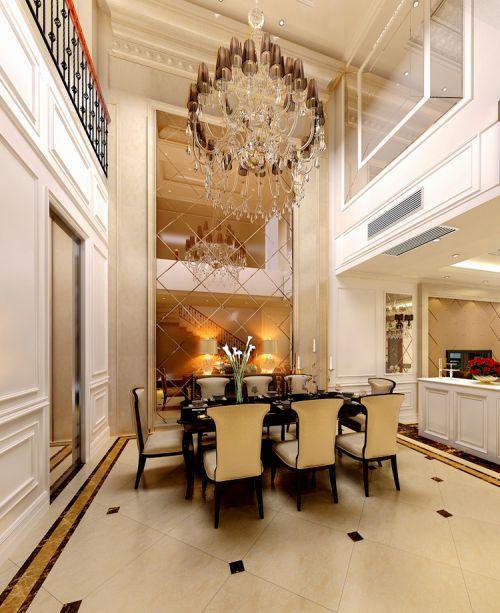 新古典风格六居室客厅吧台装修效果图大全