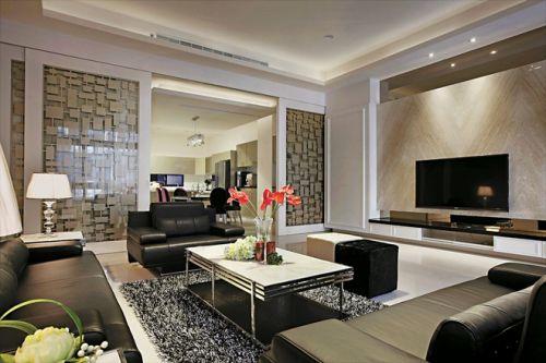 新古典风格三居室客厅装修效果图大全