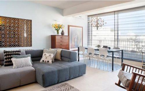 西式古典二居室客厅沙发装修效果图大全