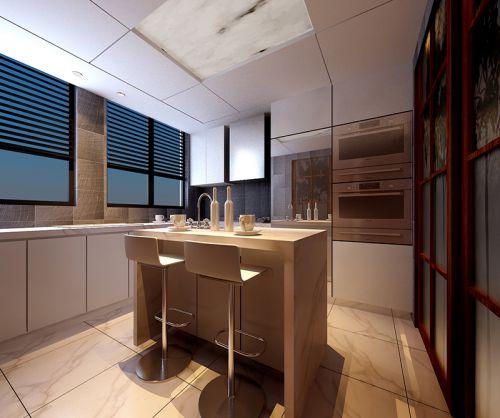 现代简约五居室厨房橱柜装修效果图大全