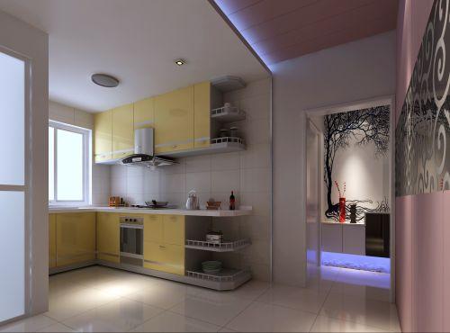 现代简约五居室厨房装修效果图大全