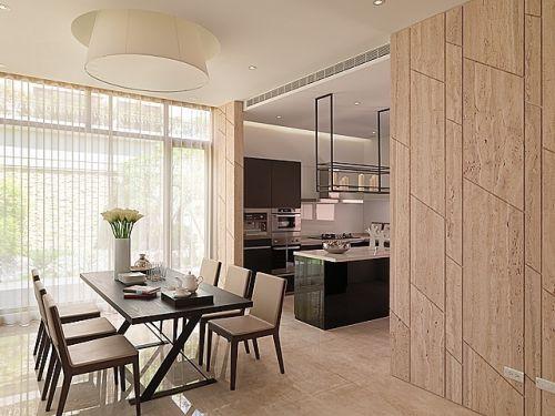 现代简约四居室厨房装修效果图大全