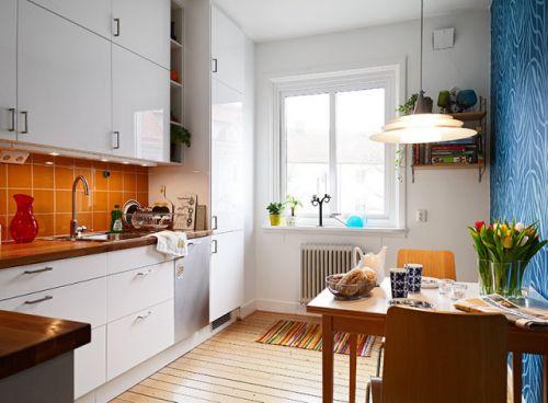 现代简约二居室厨房装修效果图欣赏