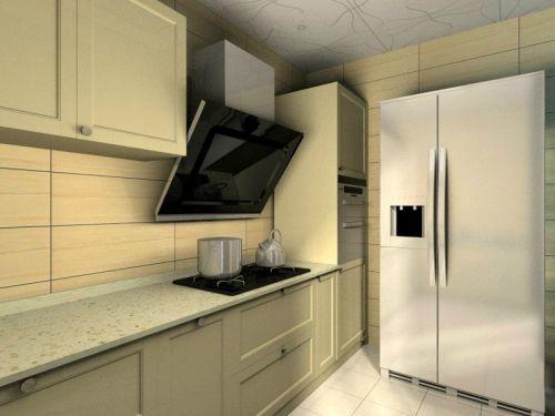 现代简约二居室厨房瓷砖装修图片