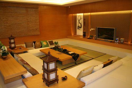 韩式风格三居室客厅吊顶装修效果图大全