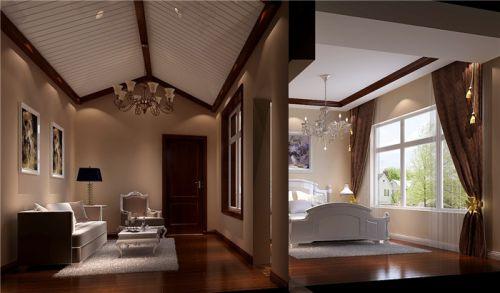 韩式风格三居室客厅装修效果图大全
