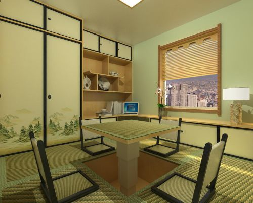 韩式风格二居室客厅装修图片