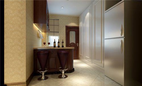 简欧风格二居室厨房瓷砖装修效果图大全