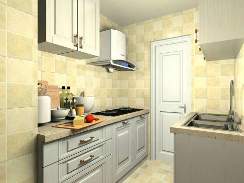 简欧风格三居室厨房橱柜装修效果图大全