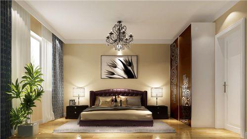 简欧风格三居室厨房床装修图片