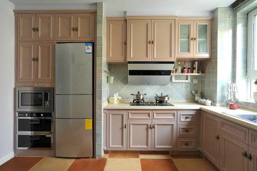 简欧风格三居室厨房装修效果图