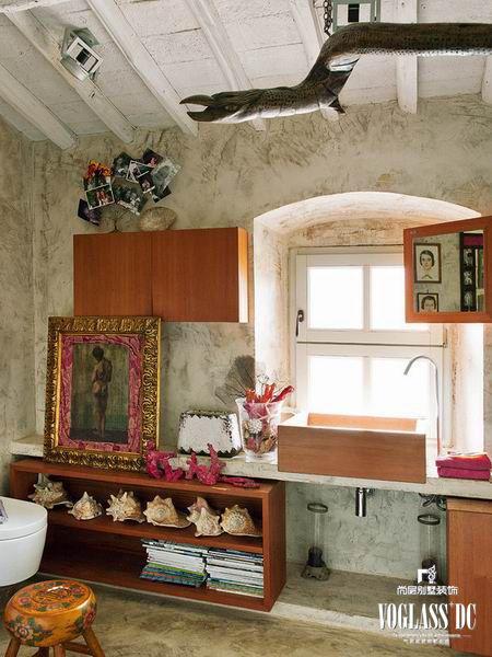 简欧风格别墅厨房装修图片欣赏