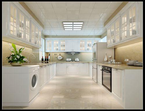 简欧风格四居室厨房装修图片欣赏