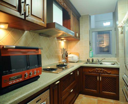 新中式小户型厨房装修效果图