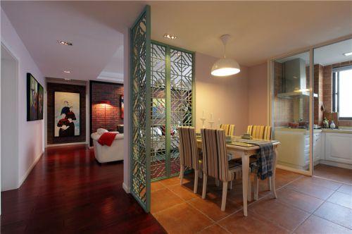 中式古典二居室厨房飘窗装修效果图欣赏