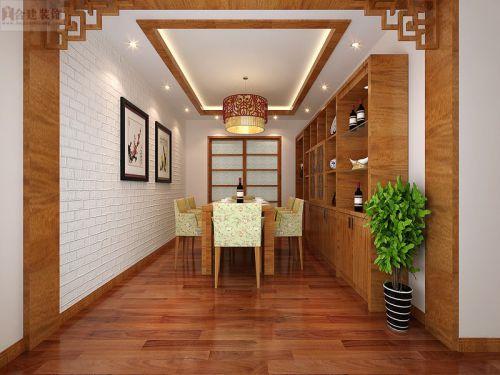 新中式三居室厨房装修效果图大全