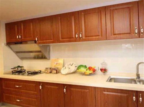 新中式三居室厨房灯具装修效果图欣赏