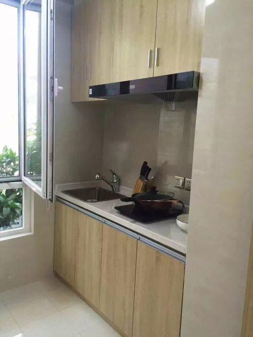 中式风格二居室厨房橱柜装修效果图欣赏