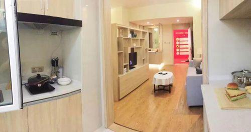 中式风格二居室厨房橱柜装修效果图大全