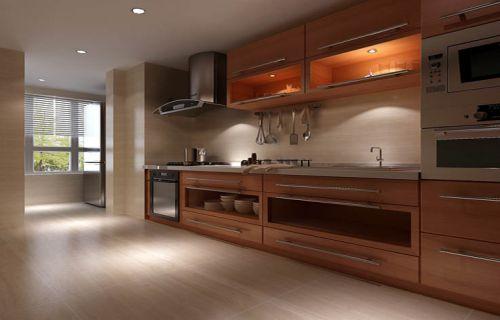 新中式三居室厨房装修图片