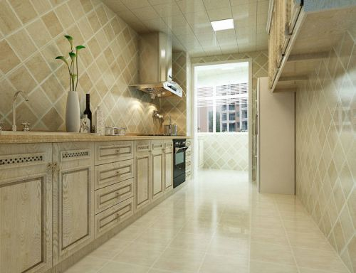 中式古典三居室厨房装修图片欣赏