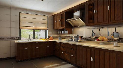 中式古典二居室厨房装修效果图大全