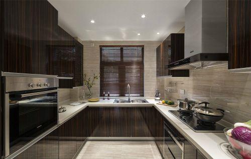 中式古典四居室厨房灶台装修效果图大全