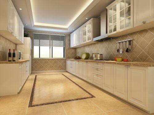 欧式风格三居室厨房装修效果图欣赏