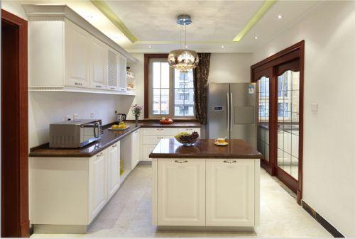 欧式三居室厨房装修图片欣赏