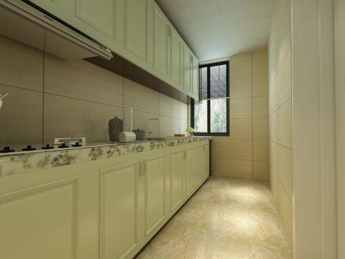田园风格二居室厨房装修图片