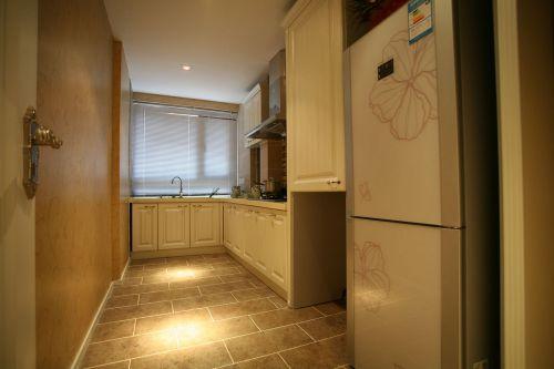 田园风格四居室厨房装修效果图大全