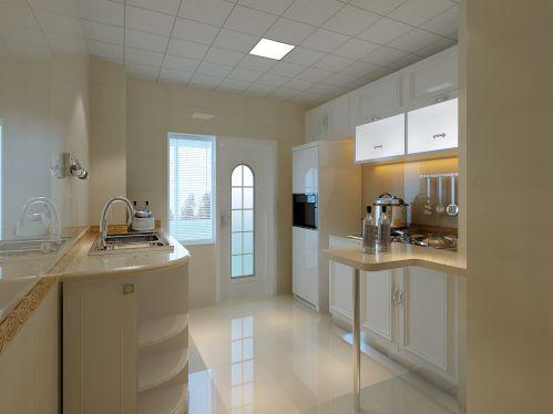 欧式田园二居室厨房吊顶装修效果图欣赏