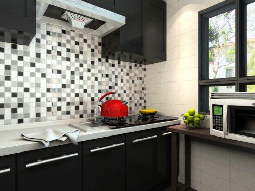 田园风格二居室厨房橱柜装修效果图大全