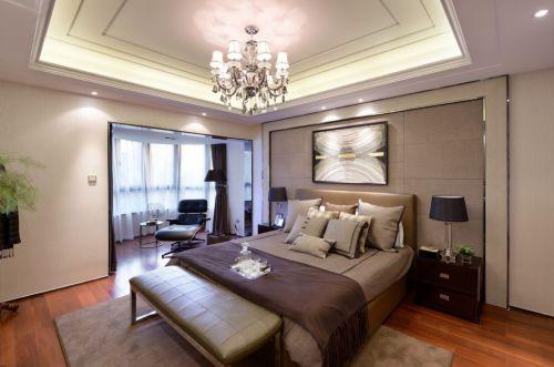 雅致时尚现代风格卧室装修设计