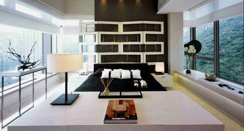 时尚优雅现代简约风格卧室效果图