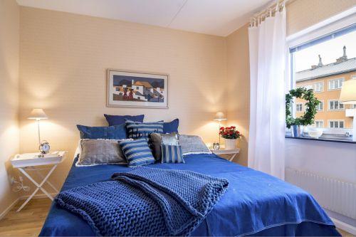 华丽现代风格卧室灯具装修案例