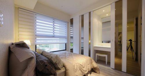 家装现代简约风格小户型卧室装修案例
