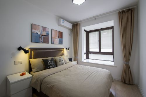 时尚现代风格卧室飘窗装修案例