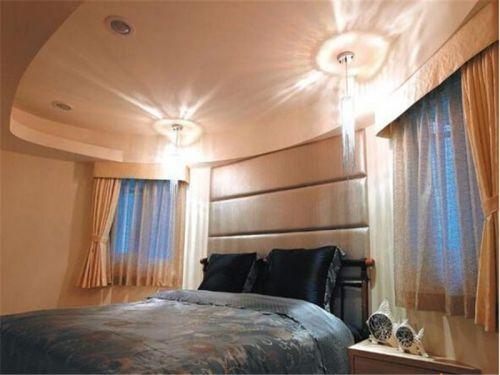 现代简约一居室卧室飘窗装修效果图欣赏