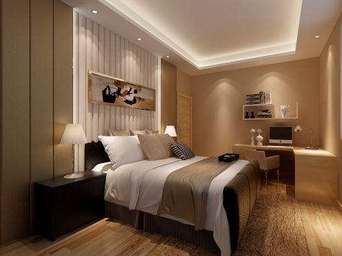 现代简约二居室卧室装修效果图大全
