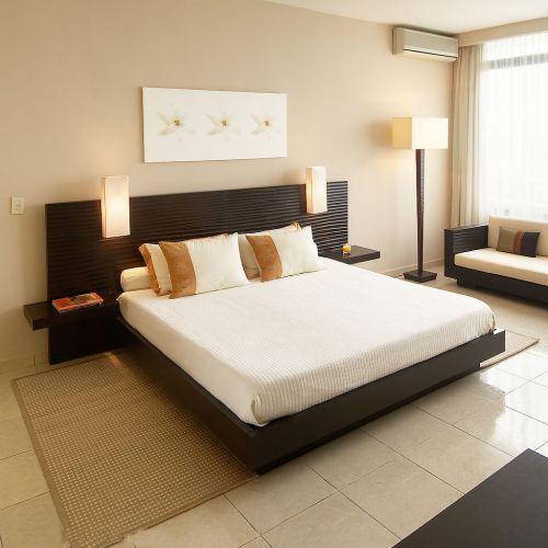 现代简约二居室卧室装修效果图