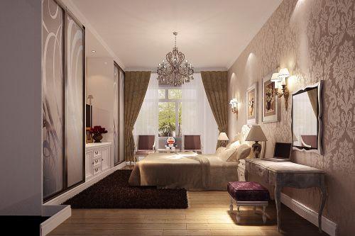 简欧风格二居室卧室装修效果图欣赏