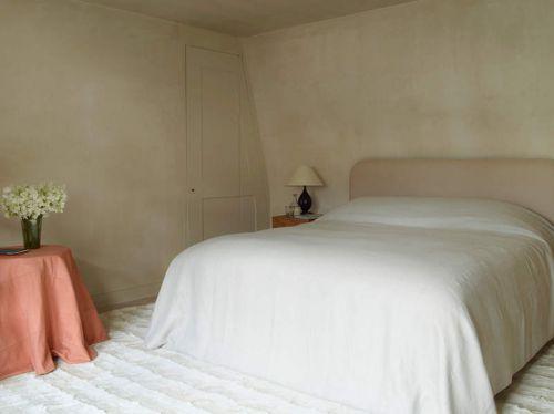简欧风格清新卧室隐形门装修效果图