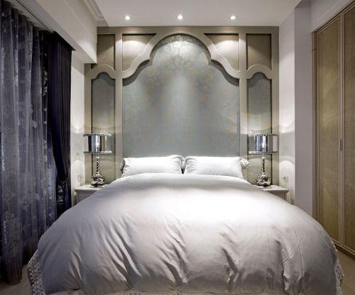 简欧风格二居室卧室组合柜装修效果图大全