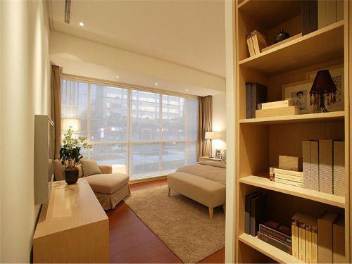 简欧风格三居室卧室吊顶装修效果图