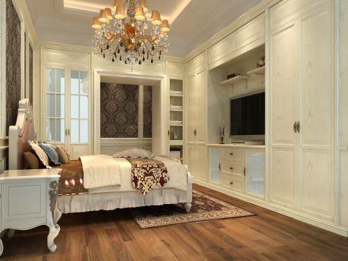 简欧风格四居室卧室装修效果图大全